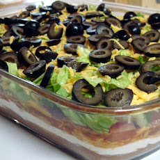 7-Layer Mexican Appetizer