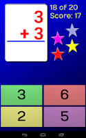 Screenshot of CardDroid Math Flash Cards