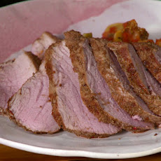 Cumin and Ginger Rubbed Pork Tenderloin