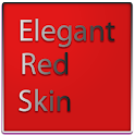 Elegant Red Keyboard Skin icon