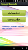 Screenshot of Nou5 Mauritius Contacts Update