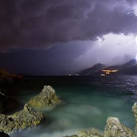 storm by Boris Basic - Landscapes Weather ( lightning, bolt, weather, storm )