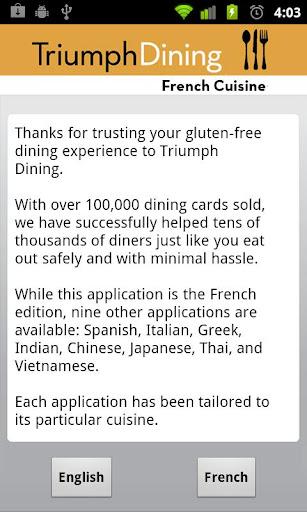 Gluten Free French