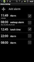Screenshot of Weather Flow! Alarm Clock