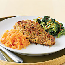 Chicken with Parmesan, Garlic, and Herb Crust