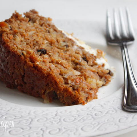 awesome carrot cake with cream cheese frosting super moist carrot cake ...