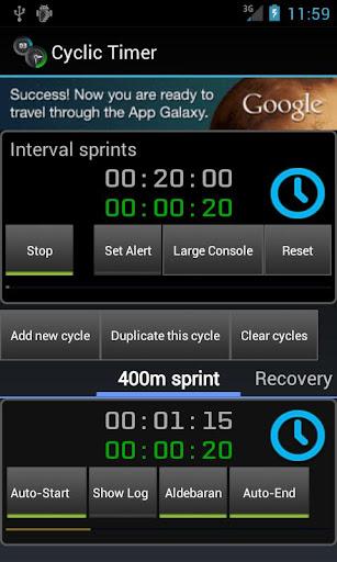 Cyclic Timer Free