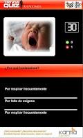 Screenshot of Trivia Quiz Anatomía