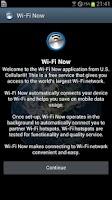 Screenshot of Wi-Fi Now by U.S.Cellular