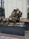 聚宝华府狮子