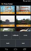 Screenshot of Photo Pointer (Tech Demo)