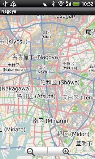 Nagoya Street Map