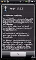 Screenshot of Advanced Wifi Lock (Free)