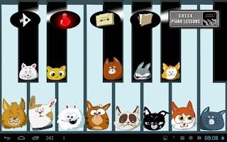 Screenshot of Best Piano Cats