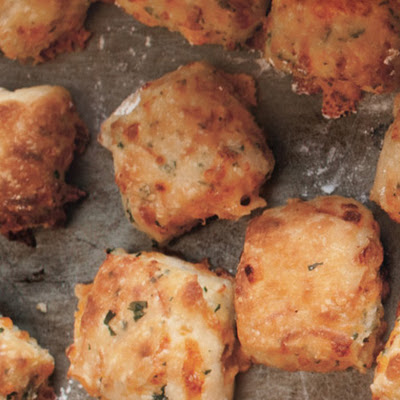 Herb and Cheese Poppers