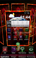 Screenshot of Next Launcher Halloween2 Theme