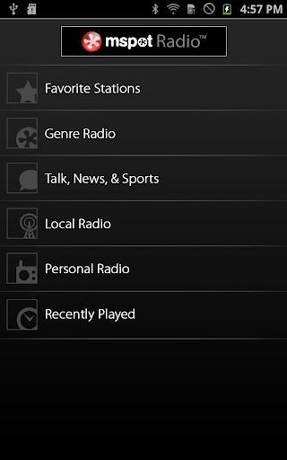 mSpot Radio™