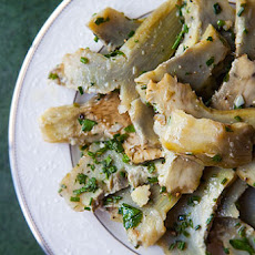Oil-Poached Artichoke Heart Salad