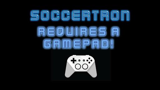 Soccer tron - screenshot