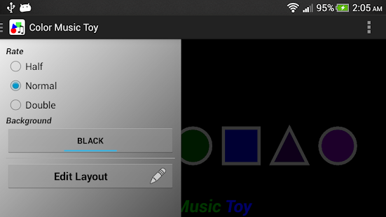 Color Music Toy - screenshot