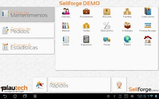 Screenshot of Sellforge
