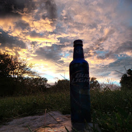 Here's to the good times with friends and a awesome sunset by Josh Reed - Instagram & Mobile Android