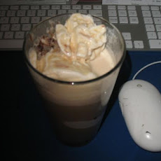 Coffee Punch with Ice Cream Floats