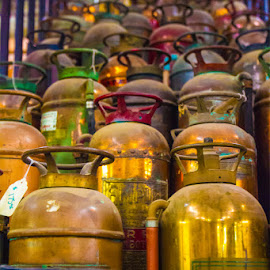 Antique Exstinguishers by Rich AMeN Gill by Rich Gill - Artistic Objects Antiques ( rich amen gill, el paso, texas, canon t2i, antiques, rich gill )