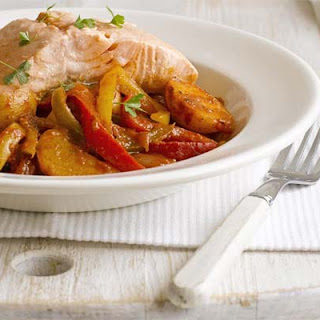 Basque-style Salmon Stew