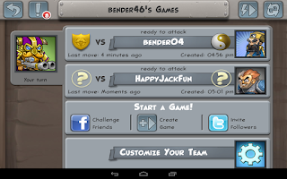 Screenshot of Hero Academy