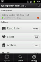 Screenshot of InstaFetch Lite