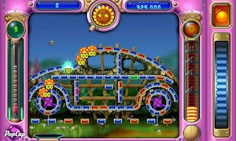 Screenshot of ZZSunset Peggle