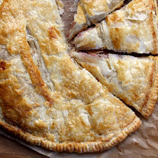 Ham and Cheese Puff Pastry Pie
