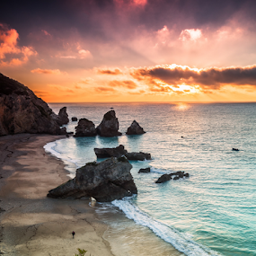 MAgic place ! by Emanuel Fernandes - Landscapes Sunsets & Sunrises ( clouds, sky, sunset, sunrise, portugal )