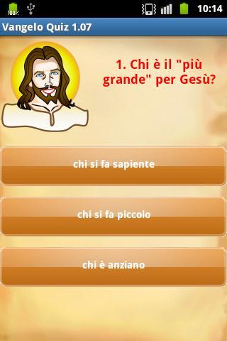 Gospel Quiz Ita
