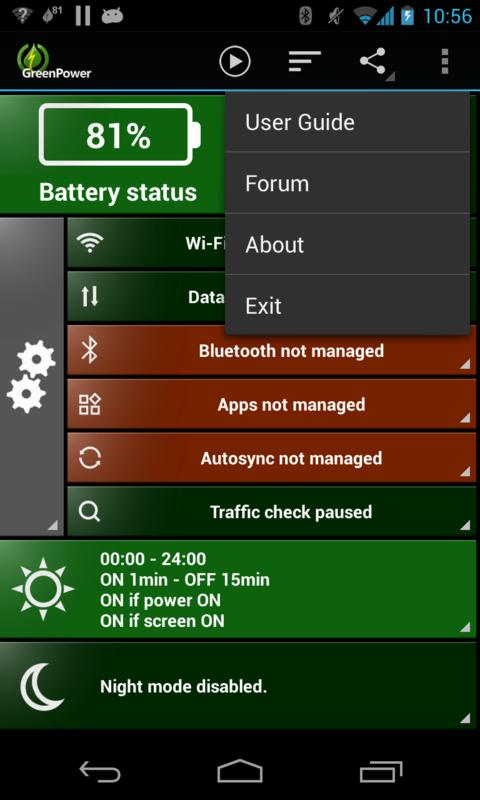 GreenPower Premium Screenshot 1