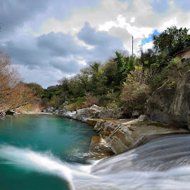 Alcantara river: Gurna Enel by Carmelo Parisi - Landscapes Waterscapes