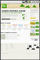 Screenshot of Earn Extra Money - CashCrate