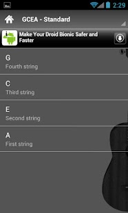 Ukulele Tunings Lite - screenshot