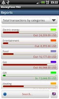Screenshot of MoneyFlow Expense Manager -