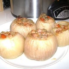 Stuffed Onions (Crock Pot)