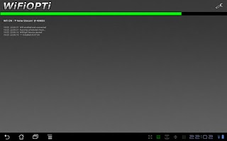 Screenshot of WifiOpti