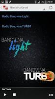 Screenshot of Radio Banovina