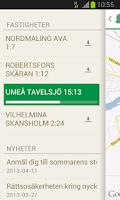 Screenshot of NorraSplan