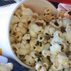 Black Sesame and Mustard Popcorn Recipe