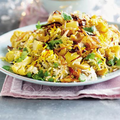 Fragrant Vegetable & Cashew Biryani