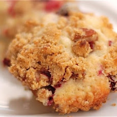 Jordan Marsh Cranberry Muffins with Pecan Streusel Topping {Webisode #41}