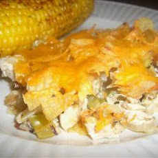 Hot Chicken Salad Casserole