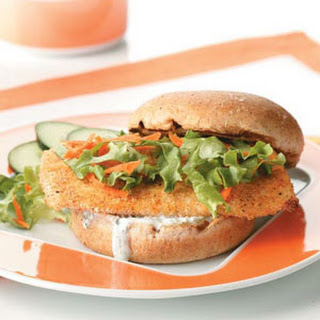 Breaded Fish Sandwiches