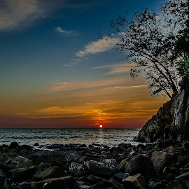 sunset - Kota Kinabalu by Albert Lee - Landscapes Sunsets & Sunrises